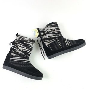 Toms Black Suede Nepal Boot H6614875